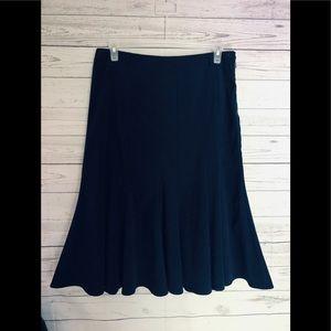 💙Beautiful Dark Blue Suede Pleated Skirt